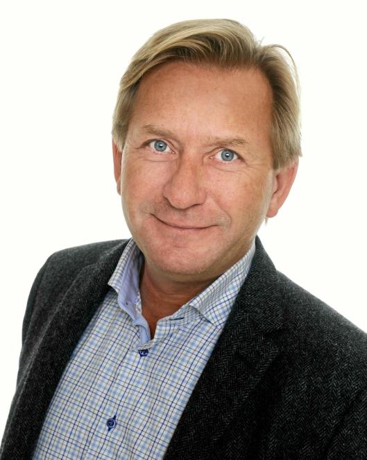 35 ÅR SOM LOKAL MEGLER: Anders Foss (55) i Foss & Co Eiendomsmegling på Kolbotn.