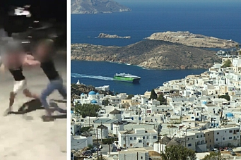 Oppegård-russ involvert i voldshandlingene i Hellas