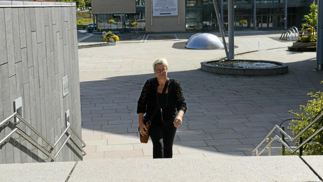 SKAL LEDE NORDRE FOLLO: Gro Herheim tiltro i stillingen som prosjektleder for sammenslåingsprosessen i Oppegård og Ski den 1. september 2017. Fra 1. januar 2020 skal hun være administrasjonssjef for Nordre Follo kommune.
