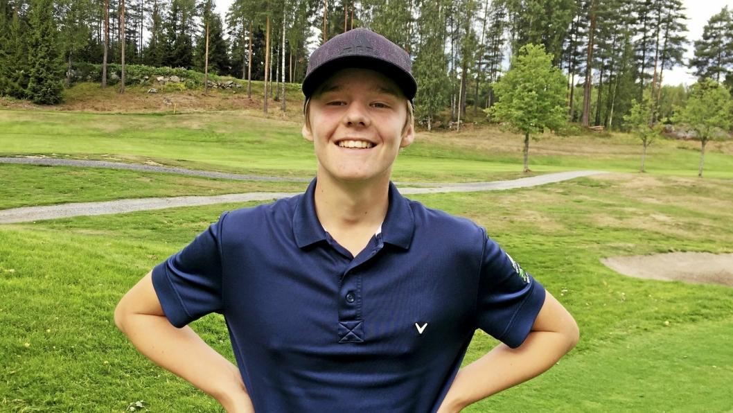 TALENT: Rune Bøkeid er bare 16 år, men leverer gode allerede gode prestasjoner på seniornivå nasjonalt.