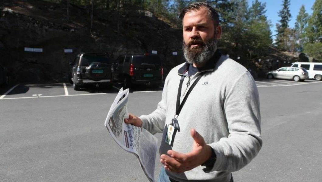 NY POLITIKONTAKT: – Foreldre må også på banen og våge å være upopulære, sier politikontakt i Oppegård, Andreas Bjørnteig.