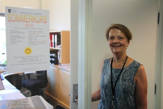 SMAKEBIT: – Sommerkursene gir barna en smakebit av hva vi har av det ordinære tilbudet hos oss, sier Liv Aukner ved kulturskolen.