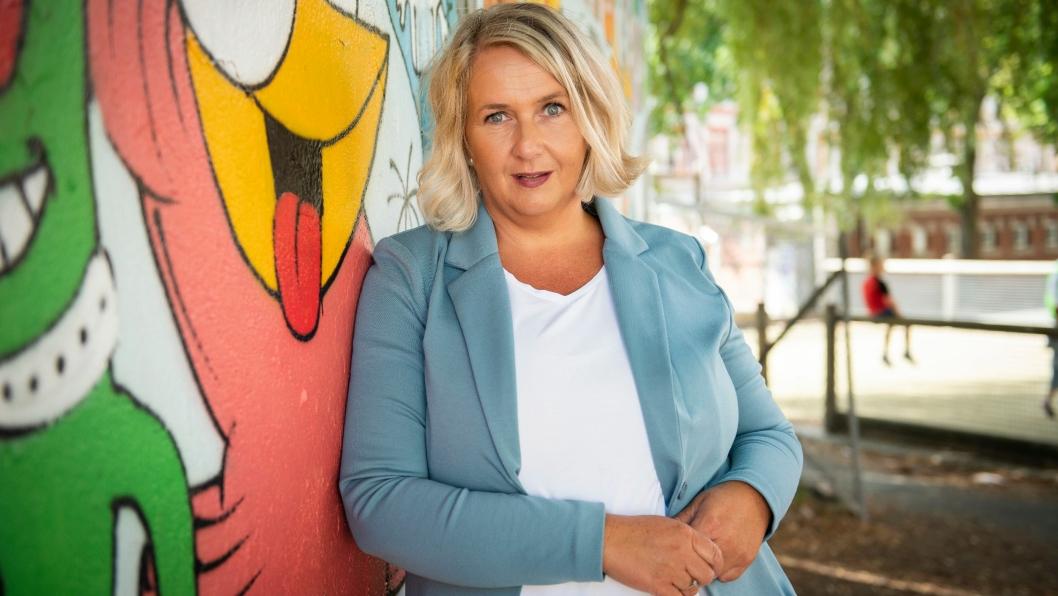 MOBBEOMBUD: Janne-Marie Myrås er mobbeombud for barnehage og grunnskole i Akershus