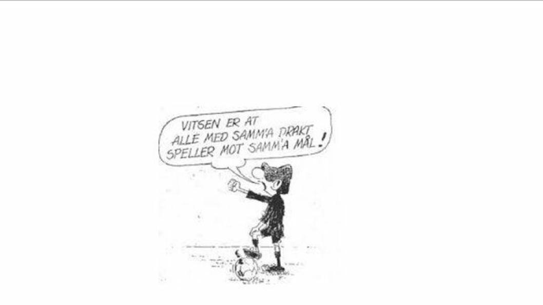 KLOK MANN; Som bedrifts- og forandringsledere er vi vel vant med divergerende oppfatninger hvoretter disse skal samles i en beslutning.  En klok mann sitert ovenfor har sagt dette på sin måte, skriver forfatterne bak dette leserinnlegget og viser til tegneseriehelten Andy Capp.