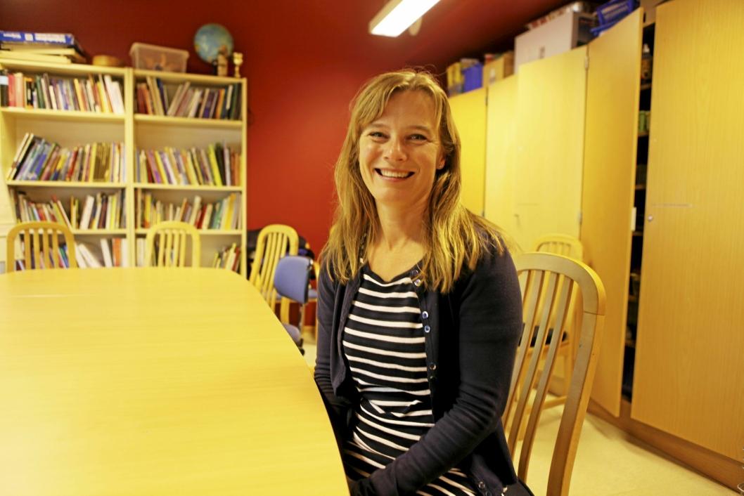 21 ÅR: Henriette Samuelsen (46), har vært fungerende undervisningsinspektør på Sofiemyråsen siden november 2017, men har jobbet på ressurssenteret i 21 år.