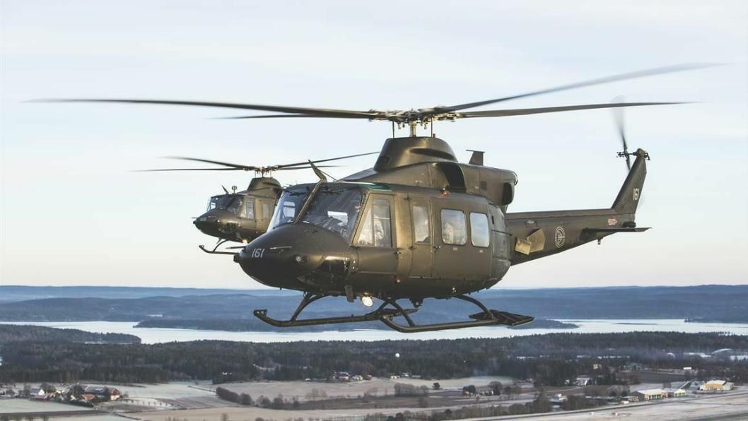 MILITÆRØVELSE: Det vil foregå militær øvingsaktivitet med helikopter på Østlandet med øvingsområder i Vestfold, Østfold, Akershus og Oslo. Flygningen vil forekomme på kvelds- og nattestid frem til fredag 10. september.