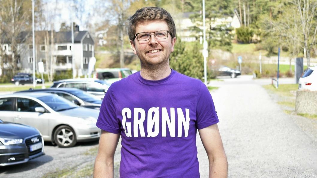 AKTUELL MED DEBATTINNLEGG: Hans Martin Enger, kommunestyrerepresentant (MDG) har skrevet et debattinnlegg denne uken.