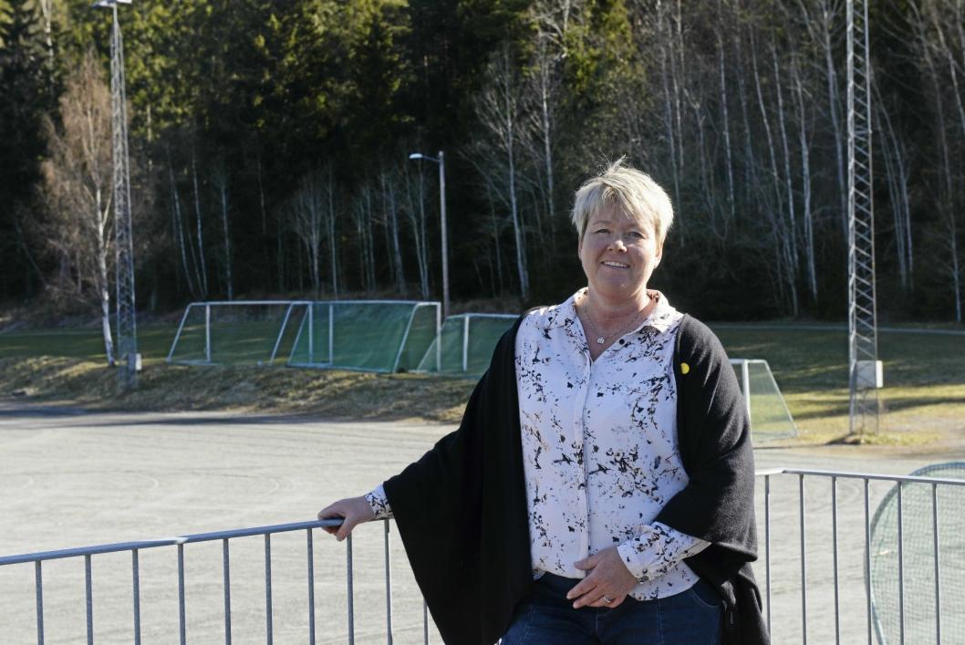 LEDER: Hege Frøyna, daglig leder i Oppegård Idrettslag.