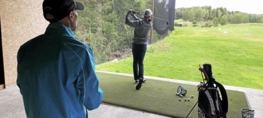 Golf-sensasjonens trener