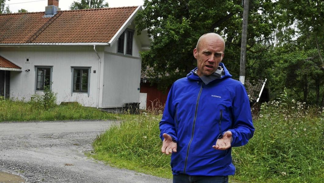 SKAL DEKKES AV ALLE: Ola Toftdahl, styremedlem i Svartskog Vel, påpeker at eventuelle overskridelser vil gå på bekostning av andre VA-prosjekter i kommunen.