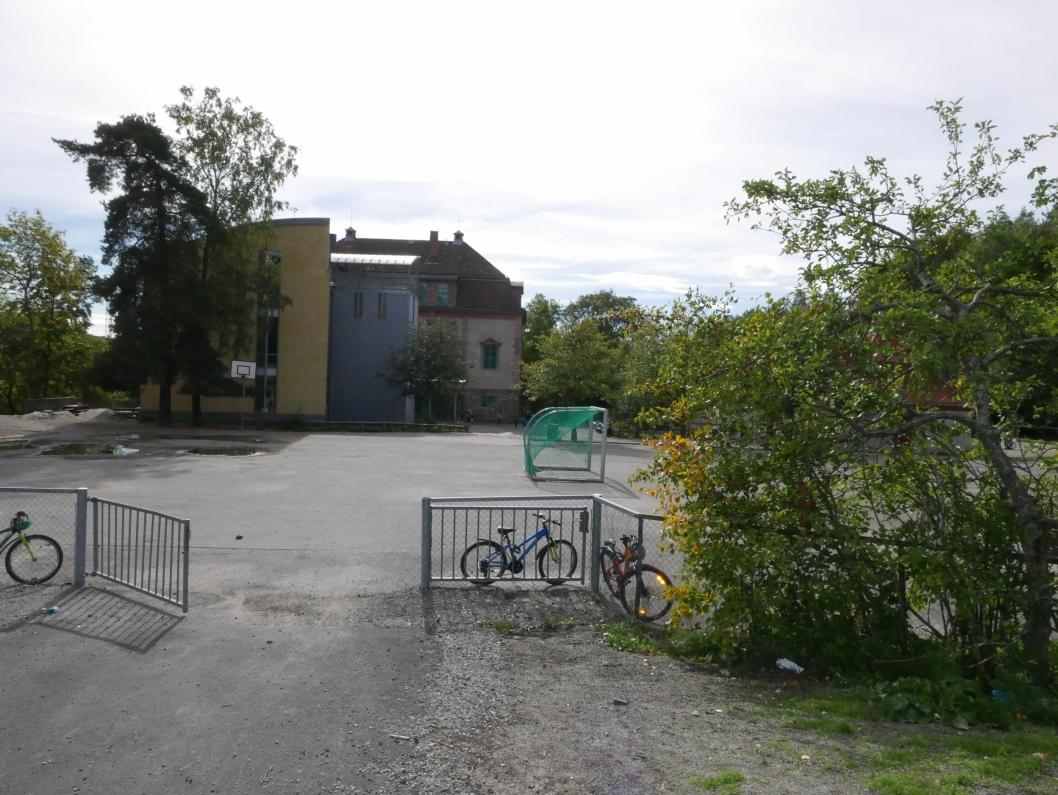 KOLBOTN SKOLE I DAG: Slik ser Kolbotn skole i dag.