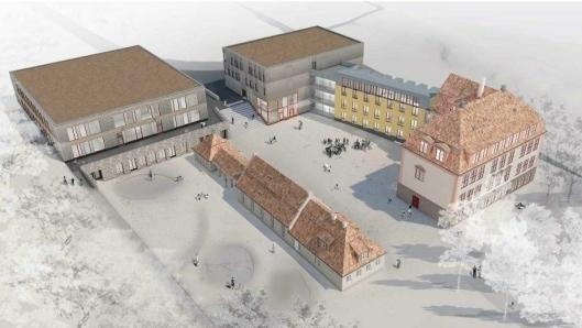 NY SKOLE: Slik er nye Kolbotn skole planlagt.