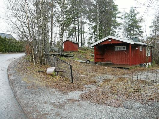 KOMMUNAL TOMT: Holbergs vei 2 er eid av Oppegård kommune, men kommunen vurderer å selge den til Sønsterudveien 26 AS.