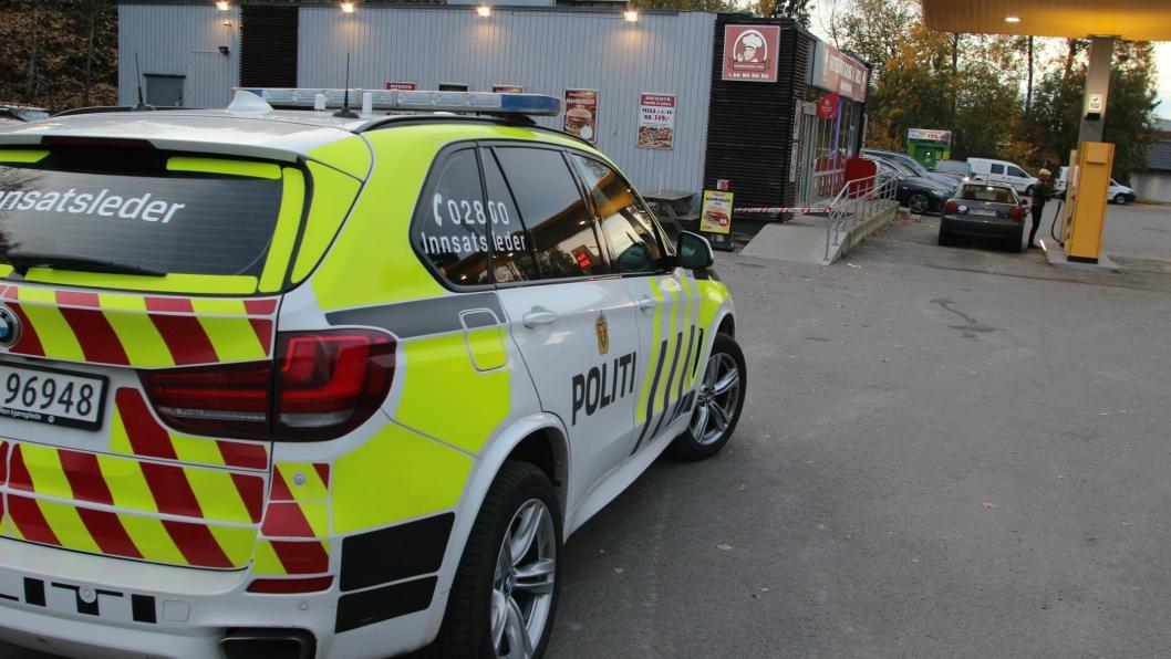Politiet fikk melding om voldsepisoden lørdag kl 16.