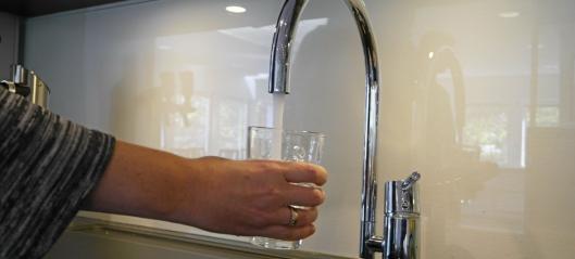 Snart blir vannet dyrere...