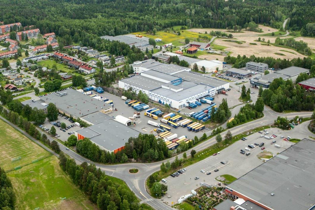 63,2 MÅL: DSV- og Jernia-tomtene på Fløysbonn.