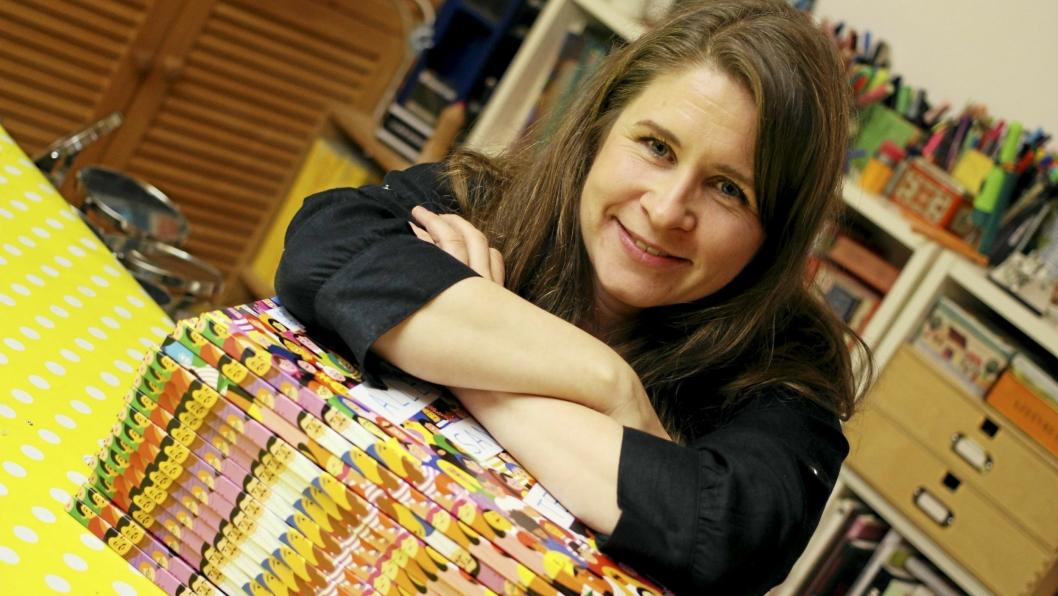 """NOMINERT: Kristin Roskiftes bok """"Alle sammen teller"""" når stadig lengre ut i verden. Nå er det klart at hun er av de nominerte til Brageprisen."""
