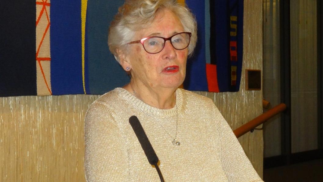 NY LEDER: Lola Stormorken ble valgt som leder av Nordre Follo Senior Høyre (NFSH) for ett år. Hun har tidligere erfaring som leder i OSH i to år og har sittet i styret i OSH og Oppegård Høyre (OH).