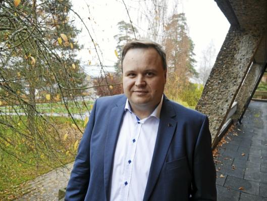 – GODT UTGANGSPUNKT: – Rådmannens forslag er et godt utgangspunkt, sier ordfører Thomas Sjøvold.