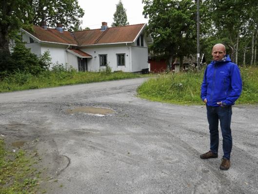 GLADNYHET: – Dette er en av de beste nyhetene på veldig lenge, sier Ola Toftdahl, styremedlem i Svartskog Vel.