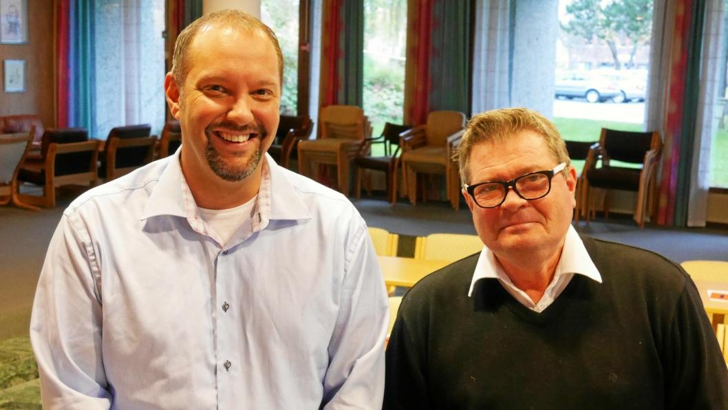 HAR BLITT MEDLEMMER AV HØYRE: Geir Amundsen og Ole Sverre Joveng.