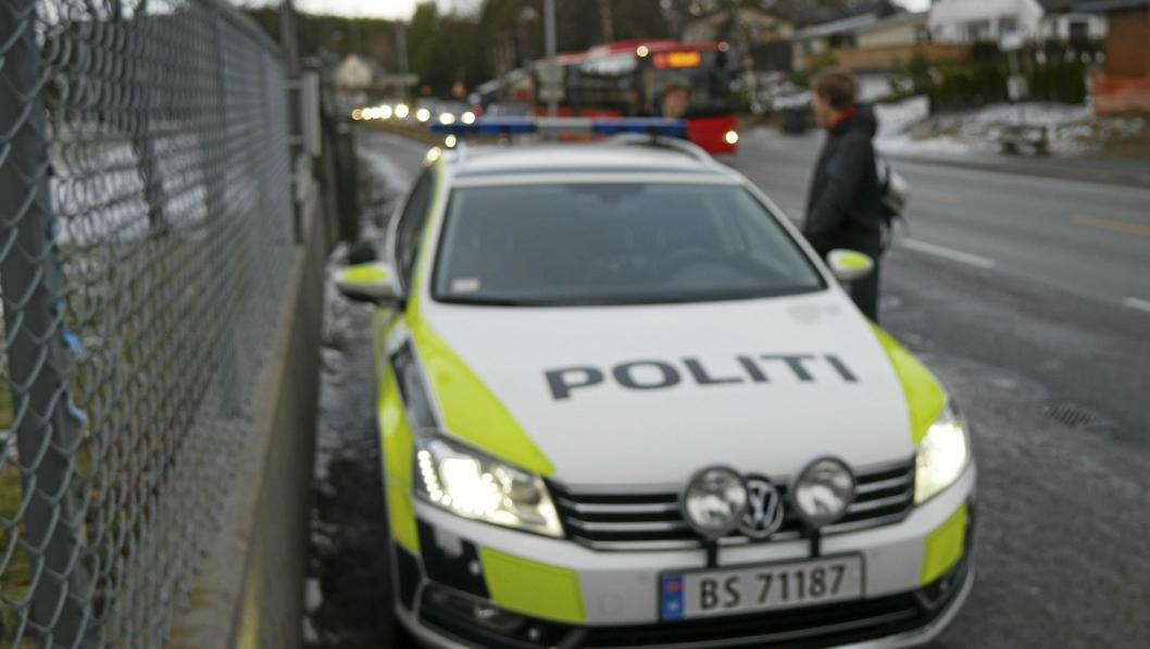 LETTE ETTER SAVNET MANN: Politiet hadde en leteaksjon etter den savnede 20-åringen på Sofiemyr. Bildet er kun illustrasjonsfoto og er tatt i forbindelse med en annen sak.