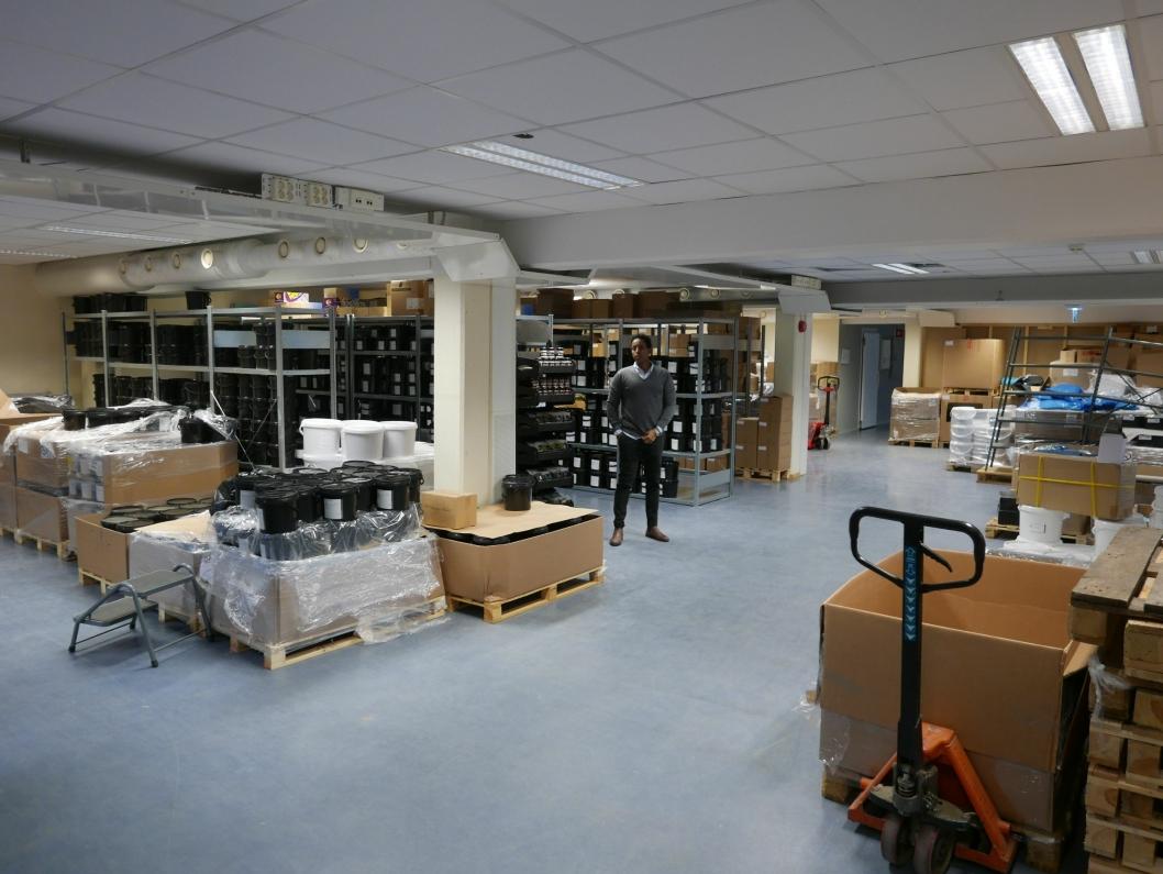 ØNSKER FREMLEIE: Selskapet har lagerlokaler på rundt 200 kvadratmeter samt et par kontorer som de ikke har behov for.