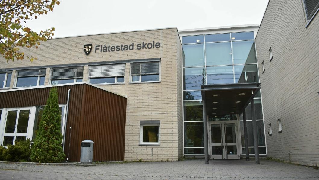 UTFORDRING: De fleste elevene ved Østli skole velger å søke seg til Flåtestad ved overgang til ungdomsskole. Flåtestad skole har ikke kapasitet til å ta imot alle elevene som søker gjesteplass, mens Fløysbonn skole har god kapasitet til alle elevene.