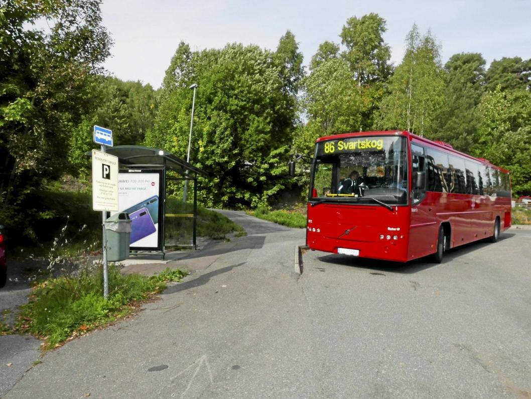 FÅR SKOLESKYSS: Oppegård kommune tilbyr gratis skoleskyss til elevene fra Svartskog. De fleste av dem går ikke på Vassbonn, men på Kolbotn skole.