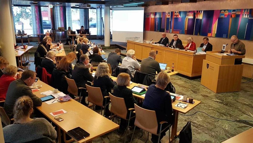HISTORISK: Mandag 10. desember var årets viktigste kommunestyremøte avholdt. Møtet var også historisk. Det siste budsjettet for Oppegård kommune ble vedtatt før kommunesammenslåingen om ett år.