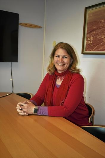 KOM MED GLADMELDINGEN: Heidi Tomten, virksomhetsleder i UTE Oppegård.