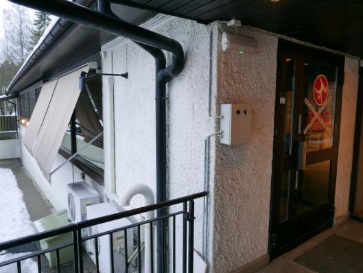 HER SKAL BUTIKKEN VÆRE: Butikken åpner lørdag 12. januar i de tidligere lokalene til VÅG trening og yoga, som ligger i første etasje på Sønsterudveien senter.