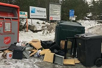 Oppgitt over dumping av søppel