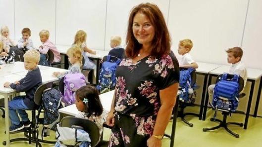 REKTOR: Nina Kristin Sæthre er rektor på Tårnåsen skole.