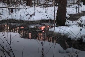 Kommunen lar anleggsvannet renne ut i Kolbotnvannet