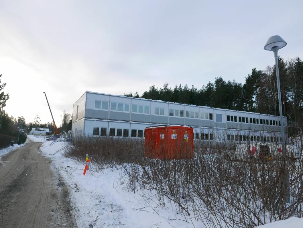 DAGEN ETTER: Det bygges fort i Solkollen. Sjekk forskjellen fra i går!