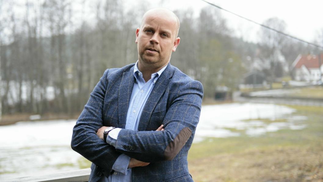 – INGEN FORURENSNINGSFARE: – Miljøkonsulents vurdering av prøvene er at anleggsvannet ikke representerer en forurensningsfare, sier utbyggingsdirektør i Solon Eiendom, Tom Andrè Svenning-Gultvedt.