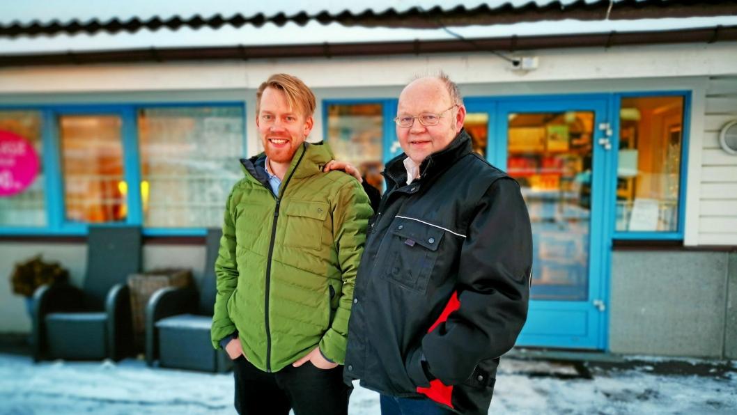 SLEKTERS GANG: Tomas er oppvokst i pappa Leif Muribøs installasjonsfirma. Etter noen år i andre bedrifter, overtok han ved årsskiftet ansvaret for Muribø intallasjon.