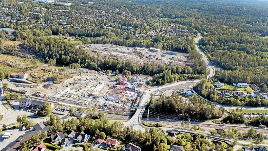 SKAPER DEBATT: Utbygging av Trelasttomta og Skogåsen skaper debatt.