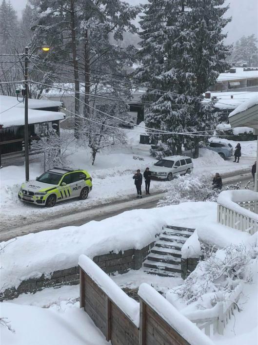 POLITI: Politiet sier det ikke er grunn til bekymring for naboer.