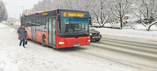 Fjerner busslommene i Sønsterudveien