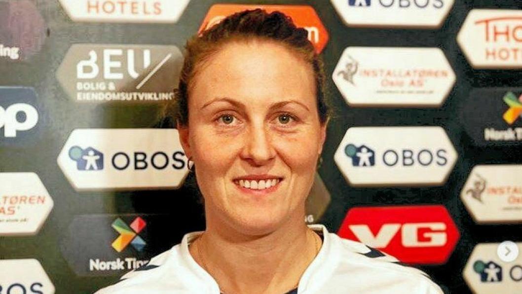 TILBAKE: Isabell Herlovsen er tilbake i landslagsvarmen etter en turbulent tid i Vålerenga.