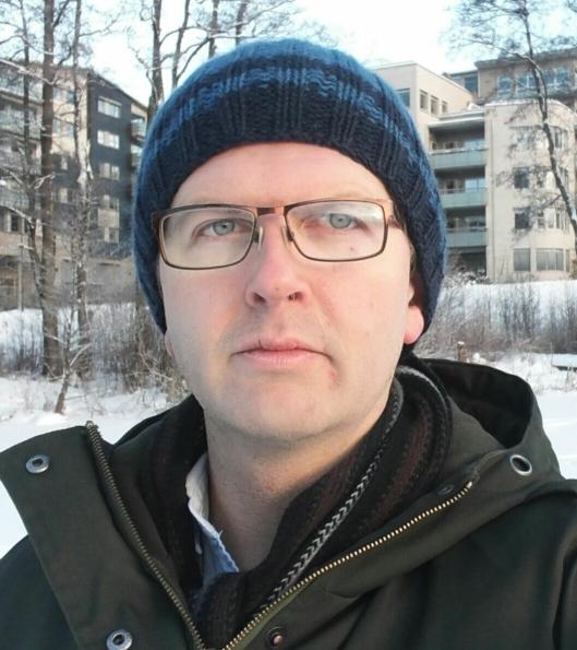 KRITISK MOT BOLIGBYGGING PÅ SKOLETOMTEN: Hans Martin Enger (MDG).