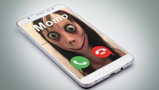 MOMO-SPILL: Momo er et nett-fenomen personifisert i et urovekkende bilde av en figur som skremmer mange barn og oppfordrer barna til selvmord, og som har vært en snakkis jorden rundt siden den dukket opp i 2016.