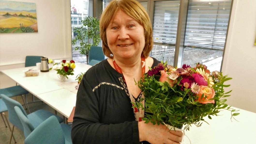 INVITERER ALLE KVINNER I OPPEGÅRD TIL FEST: Anne Solhaug har jobbet i kommunen i over 13 år. De siste to årene jobbet hun med tilbud for mindreårige flyktninger i kommunen og før dette jobbet hun i elleve år i Utekontakten.