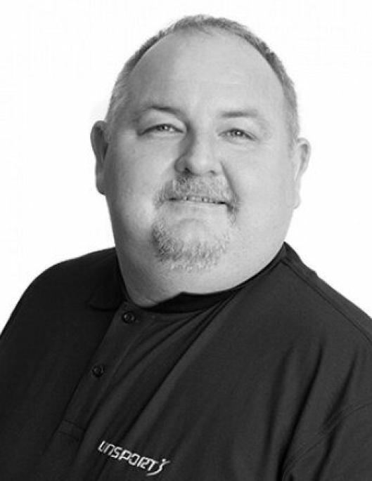 REPRESENTERER LEVERANDØREN: Bror Stensholm, prosjektleder i Unisport Scandinavia AS.