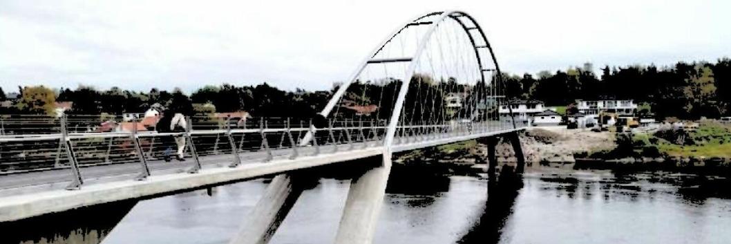 BRO OVER KOLBOTNVANNET: Slik kan broen over Kolbotnvannet se ut. OBS! Bildet er kun illustrasjon.