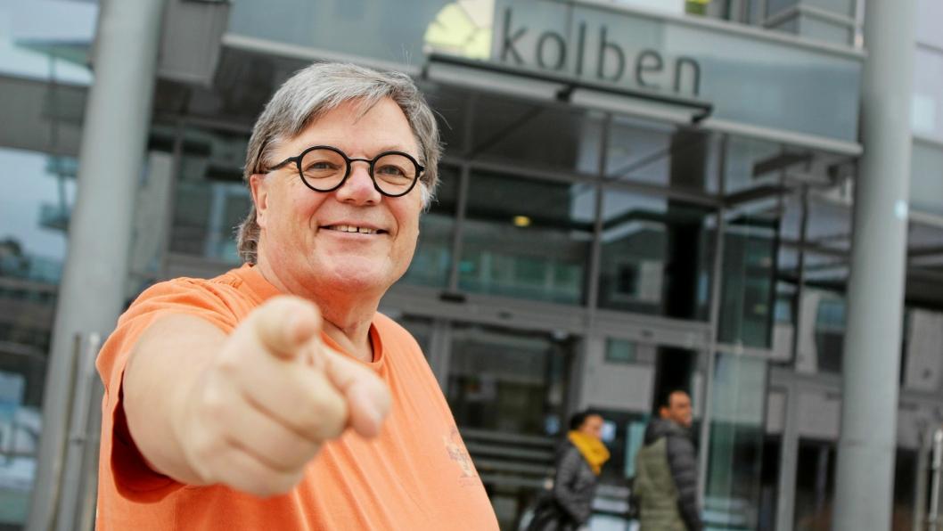 ER DET DEG? Dirigent Bjørn Morten Kjærnes håper å få mange henvendelser fra unge talenter, som vil spille med Oppegård Janitsjar.