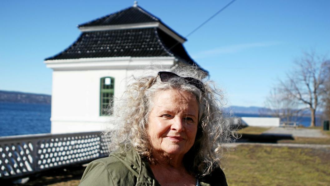 TRIST UTVIKLING: Mette Kosstad frykter hun ikke lenger kan dra til Hvervenbukta når de nye bomstasjonene settes i drift 1. juni.