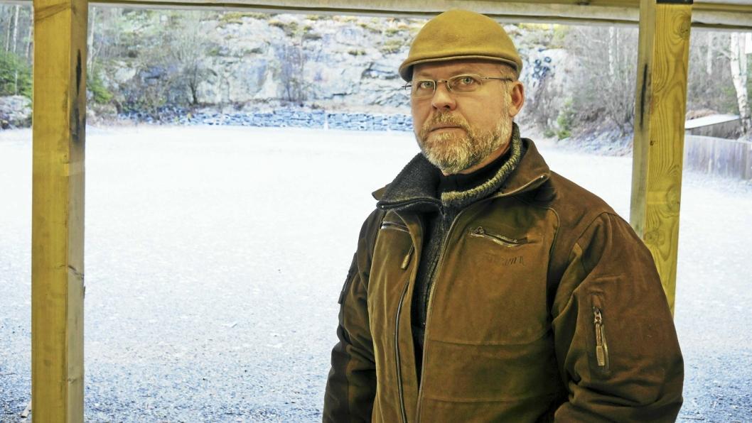 – SVÆRT URETTFERDIG: Leder Øivind Johnsen i Oppegård Skytterlag (OSL) sier de har 280 medlemmer fra Oppegård og omegn, og de opplever denne konflikten med kommunen som svært negativ og urettferdig.